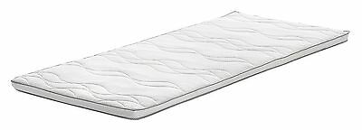 AmazonBasics Memory Foam Quilted Single Mattress Topper with Medicott Fabric