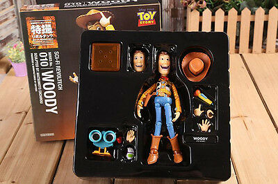 """TOY STORY WOODY KAIYODO SCI-REVOLTECH SERIES 010 6.5"""" action figure"""