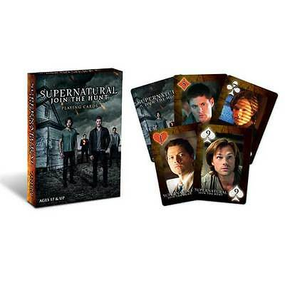 Supernatural - Playing Cards Deck B NEW Cryptozoic