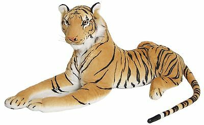 Soft Plush Brown Siberian Bengal Wild Tiger Teddy Toy Ornaments Baby Animal