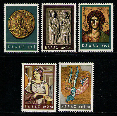 GRECIA/GREECE 1964 MNH SC.788/792 Byzantine Art