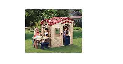 Little Tikes Picnic on the Patio Playhouse Garden Play Houses Wendy House NEW