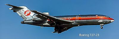 Frointier Airlines Boeing 727 Photo Magnet (PMT1594)