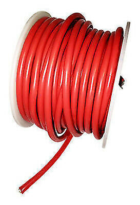 AT e4600 Silicone Wire 8awg Red OD 6.8mm 20cm