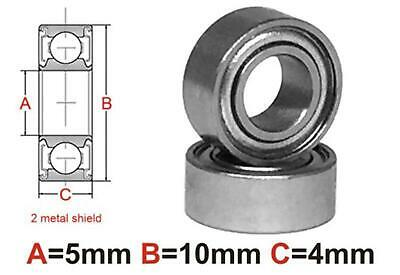 AT Bearing 5x10x4mm MS Ceramic Hybrid silicon nitride ball metal