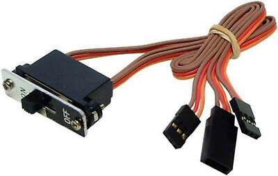 AT e4109 Switch Harness JR W/Charge Lead 150mm Long Brown/Red/Or