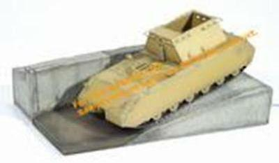 Dragon 1/72 Super Heavy Tank Maus with Testbed at Bblingen 6032