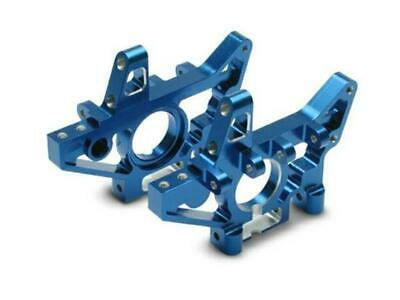 Traxxas Bulkheads Machined Alloy Blue Front 4930X