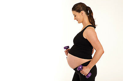 Fitness DVD for Mothers Pregercize Pregnancy & Post Natal exercise workouts