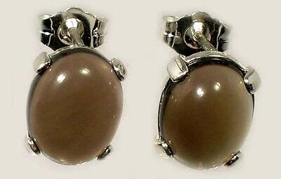 19thC Antique 4ct+ Scotland Cairngorm Smoky Quartz Ancient Roman Intaglio Gem Ur