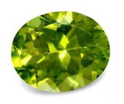 Best Blazing Green PERIDOT Oval Cut 9 x 7.5 mm