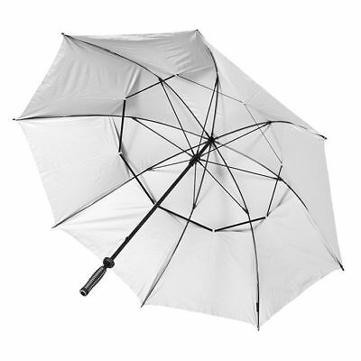 Stormbuster Windproof Golf Umbrella Silver