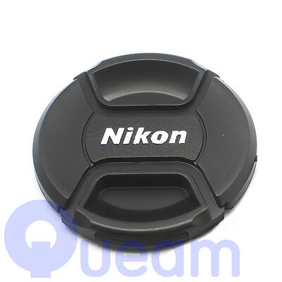 52mm Snap-on Lens Front Cap Protection Cover For Nikon Camera D3200 D3300 Black