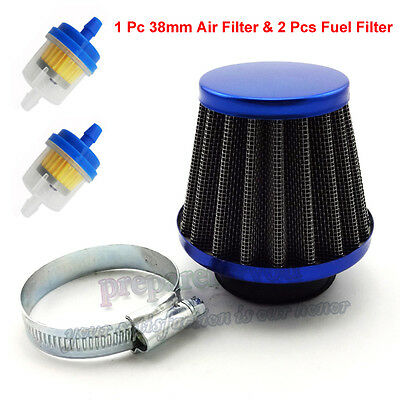 38mm Air Filter Fuel Cleaner For Honda Motor Bike ATC110 CT90 CT110 Motorcycle