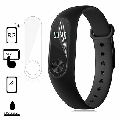 5pcs TPU Anti-Scratch Screen Protector Cover For Xiaomi Mi Band 2 Smartband