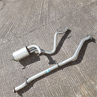 LAND ROVER DEFENDER 90 200TDi 09/1990-12/1993 CENTER SPORTS PIPE & REAR EXHAUST