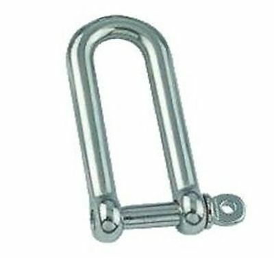 AISI 316 Marine Grade Stainless Steel Long Dee Shackle Boat Shackle 10mm