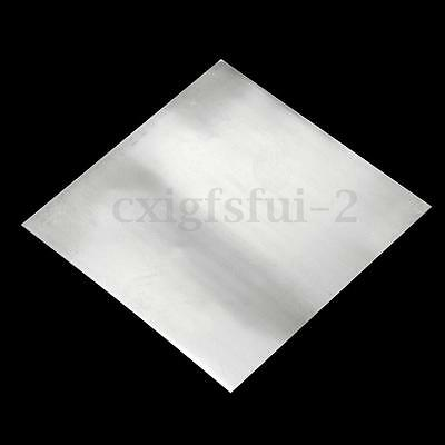 2/4x Zinc Zn Sheet Plate 150×100×0.3/100×100×0.5/500×100×0.2mm for Science Lab