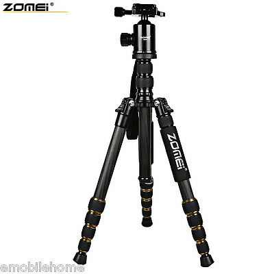 Zomei Z699C 59.4 Inches Professional Camera Video Carbon Filter Tripod with Bag