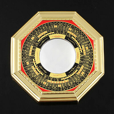 """New 5.2"""" Chinese Oriental Protection Feng Shui Home House Convex Bagua Mirror"""