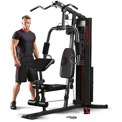 Marcy Eclipse HG3000 Compact Home Multi Gym with Chest Press & Lat Pulldown