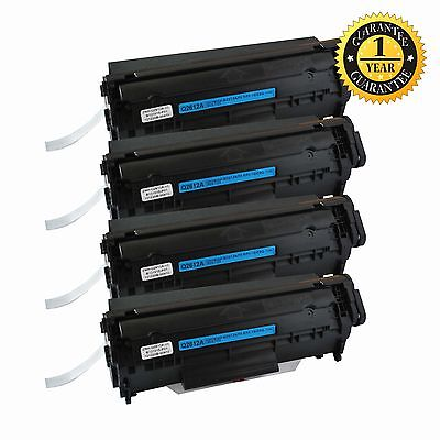 4 PK Black 104 FX9 Toner Cartridge For Canon 104 ImageClass MF4350D MF4150 D420