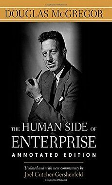 The Human Side of Enterprise Annotated Edition,HB,Douglas McGregor - NEW