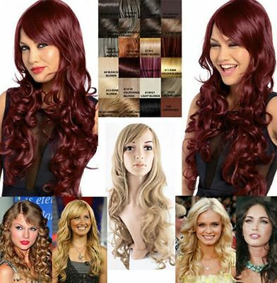 "New Extra Long Soft Curly Hair Wig 24"" Koko Uk 21 Colours Olivia G856 Boxed Gift"