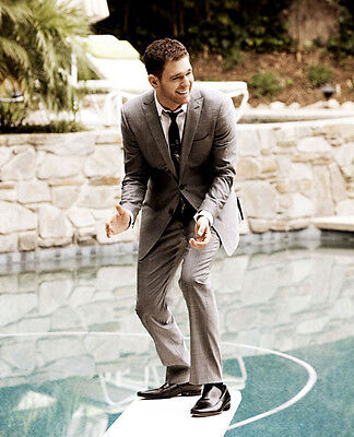 Michael Buble UNSIGNED photo - D1190 - Canadian singer, songwriter and actor