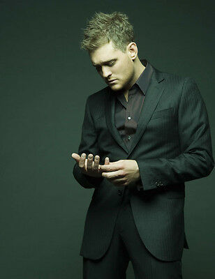 Michael Buble UNSIGNED photo - D1198 - Canadian singer, songwriter and actor