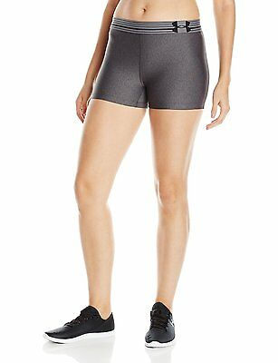 """NEW! Grey [XS] Under Armour Shorty Women 2"""" FIT Compression Shorts X-Small"""