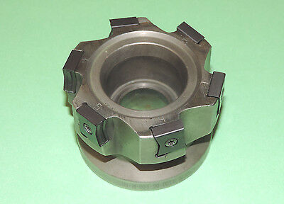 """ISCAR TANGMILL 3"""" Indexable Face Mill w/ Inserts F90LN D3.00–06–1.00-R-N15"""