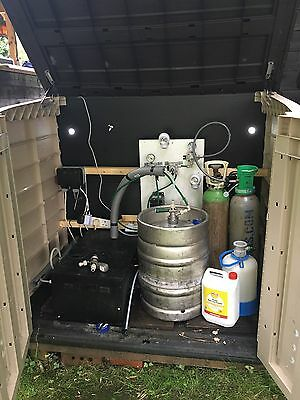 Home Bar Pub Draft Beer Set Up- Man Cave, Parties, Christmas, Home Entertaining