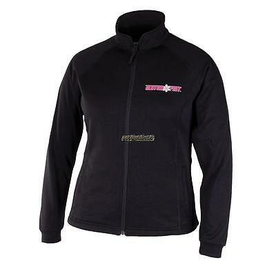 MotorFist Women's Hydrophobic Fleece Jacket - Black