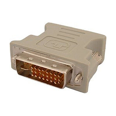 DVI male adapter (DVI - D 24 1) to female VGA (15-pin) N3