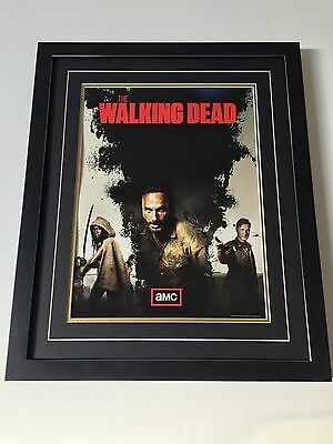 The Walking Dead Professionally Framed Poster - 57cm By 47cm - Many Available