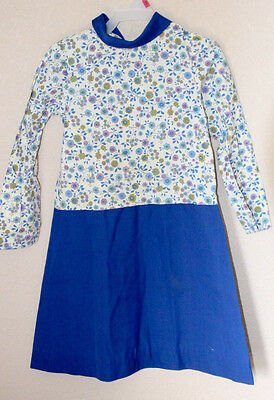 Vintage 1930s Farm House  Day Dress Primitive Antique-Youth or girl