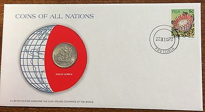 Coins of all nations coin and pnc - South Africa