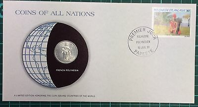 Coins of all nations coin and pnc -  French Polynesia