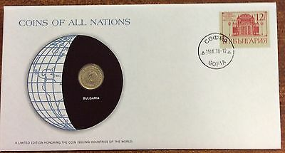 Coins of all nations coin and pnc - Bulgaria