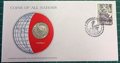 Coins of all nations coin and pnc -  Guatemala