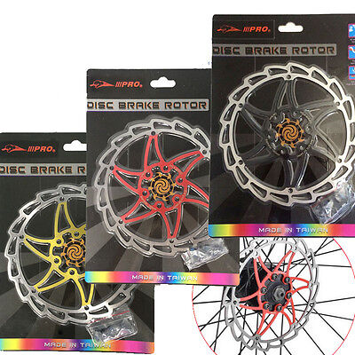 Mountain Bike Bicycle 160mm/6 Inch Floating Disc Brake Rotors With 6 Bolts B173