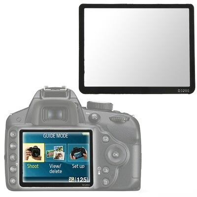 Hard Pro Optical Glass LCD Screen Protector for Nikon D3200 DSLR Camera