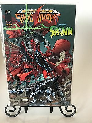 Shadowhawk Comic #17 Featuring Spawn Image Comics VF/NM