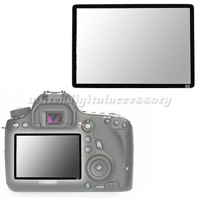 Hard Pro Optical Glass LCD Screen Protector for Canon EOS 6D DSLR Camera