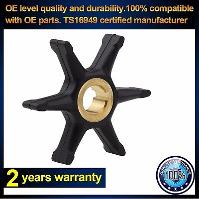 New Water Pump Impeller for Johnson Evinrude 9.5Hp 10Hp 18-3003 377178 775519