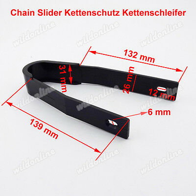 Chain Slider Kettenschutz Kettenschleifer für Pit Dirt Trail Bike