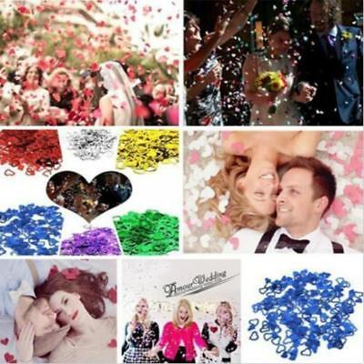 New Paper Hollow Heart Engagement Confetti Wedding Party Table Decoration Set B