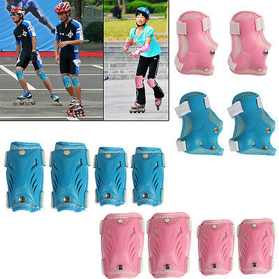 Children Wrist Elbow Knee Pad Protectors Skating Sports Cycling Safety Guard Set