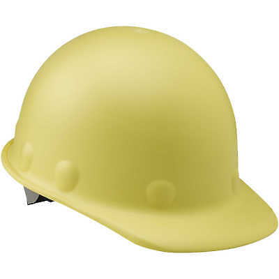 Fibre-Metal Roughneck P2 Cap Style Hard Hat with Swing Strap, Yellow